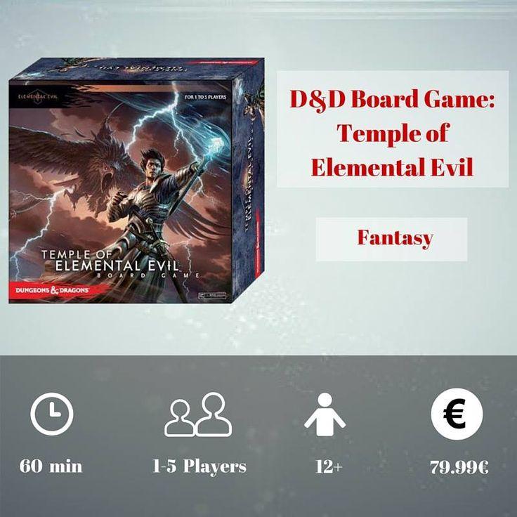 """Το """"Temple of Elemental Evil"""" είναι ένα επιτραπέζιο παιχνίδι τοποθετημένο στον κόσμο του Dungeons & Dragons. Κάθε παίκτης παίρνει το ρόλο ενός ηρωικού ταξιδιώτη, με εκπληκτικές ικανότητες, ξόρκια και μαγικά όπλα, και πρέπει να εξερευνήσει τα μπουντρούμια κάτω από την ακτή του Σπαθιού. Εκεί οι παίκτες θα συναντήσουν τέρατα, θα υπερνικήσουν εμπόδια και θα βρουν θησαυρούς. https://goo.gl/ZKMjdN"""