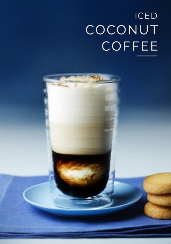 There's no mistaking the exotic taste of this indulgent Iced Coconut Coffee recipe from Nespresso. Choose from Ristretto, Arpeggio, or Decaffeinato Grand Cru as you blend together the sweet taste of ingredients like brown sugar, coconut ice cream, and cinnamon. This elegant drink is the perfect way to kick back and relax at the end of your day.