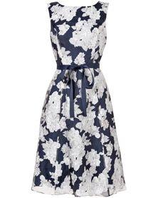 Norma Floral Burnout Dress