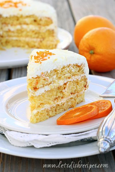 Seems similiar to a delish orange/mandarin cake my mom makes.. Easy Pineapple Orange Layer Cake