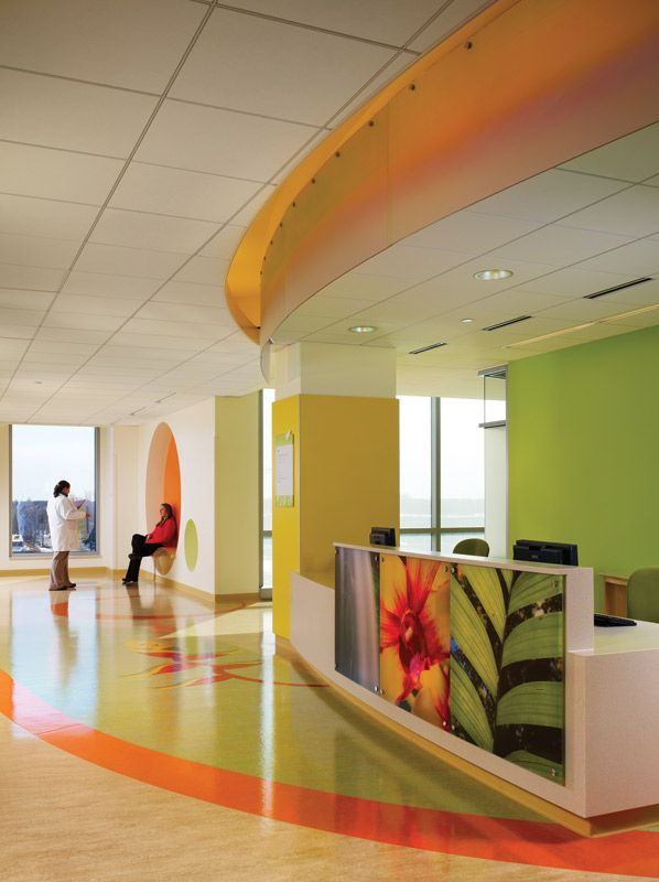 Amplatz Children's Hospital - interior colors http://reusedplastic.net/terry-lambert-and-the-newman-hospital-in-emporia/