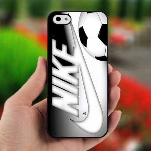 nike ball - Design for iPhone 4/4S Black Case | printcustom - Accessories on ArtFire
