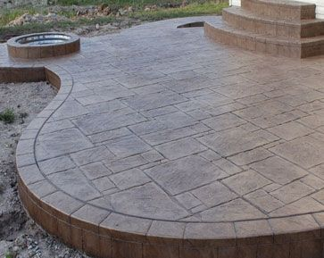 Best 25+ Stamped Concrete Patios Ideas On Pinterest | Stamped Concrete,  Concrete Patio And Concrete Patios