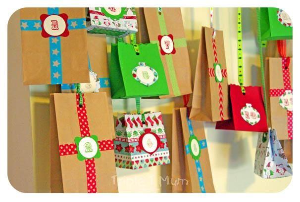 Advent Calendar idea! Absolutely love this!!