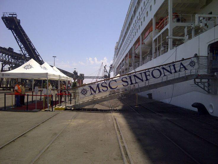 MSC Sinfonia , Cape Town/Walvis bay/Luderitz cruise