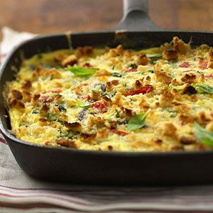 Mediterranean Frittata: Food Recipes, Frittata Recipes, Breakfast, Roasted Peppers, Eggs Recipes, Brunch, Mediterranean Frittata, Delicious Entrees, Vegetarian Frittata