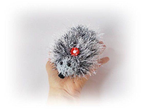 Crochet hedgehog Crochet toys hedgehog Plush Gift for her for kids Stuff Crochet…