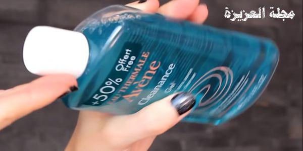 فوائد وسعر غسول افين جل الازرق للوجه بالتجارب مجلة العزيزة Water Bottle Reusable Water Bottle Bottle