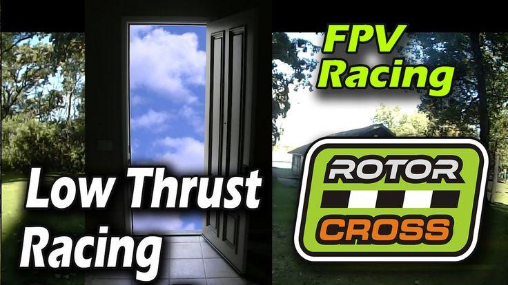 Low Thrust Drone Racing // ZMR250 HQ5x3 glass fiber