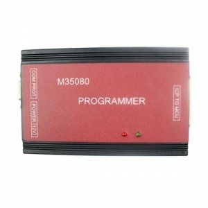 BMW M35080 Programmer is obd2 repair Auto ECU programmer can Correct mileage for BMW odometers with M35080 chip. BMW M35080 Programmer odometer Correction tool support BMW E65 / E38/ E39/ E46 etc.BMW M35080 Programmer newest version for the software is 3.0 now  http://www.obd2motor.com/bmw-m35080-programmer-p-444.html