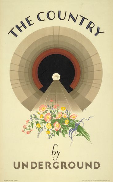The country by Underground, by Irene Fawkes, 1928