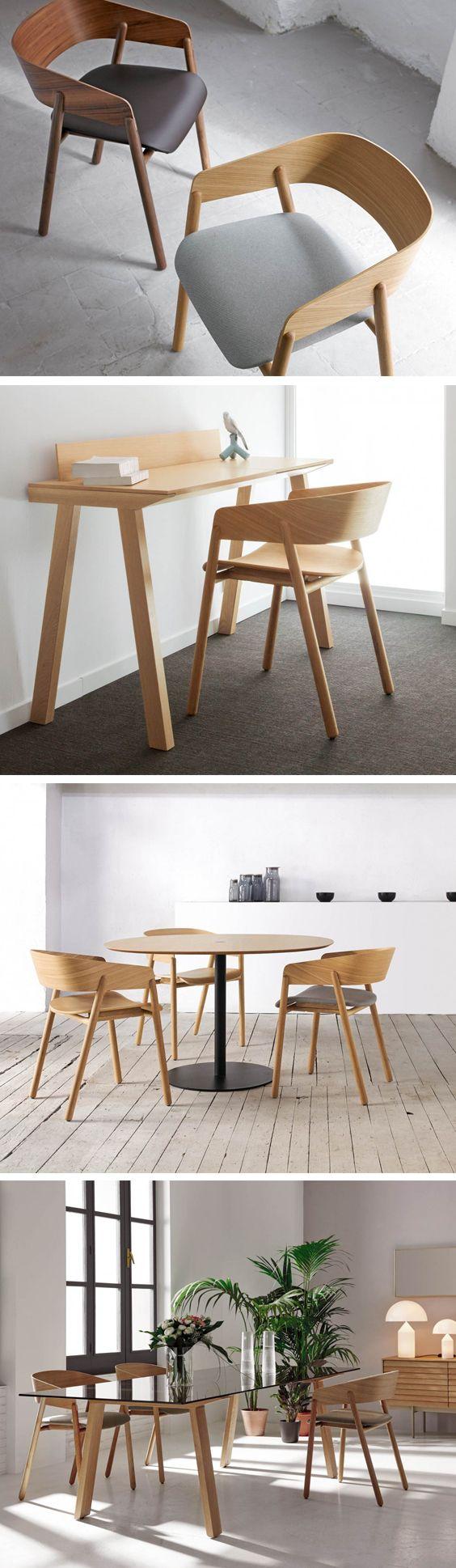 Der moderne Puntmobles Mava Massivholzstuhl mit runder Rückenlehne ist besonders minimalistisch.   #Designstuhl #Stuhl #Massivholzstuhl #Wohnzimmer #Arbeitszimmer #Küche #Esszimmer #Punt #Livarea #Design #Möbel #modern #zeitlos #einrichten #minimalistisch #Einrichtungsideen #wohntrend #Trend #wohnideen