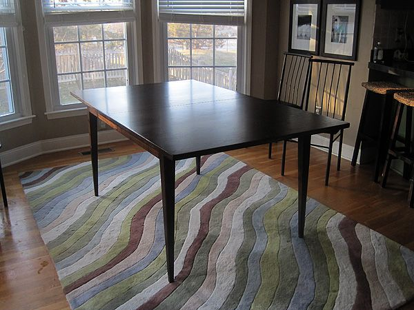 28 best images about kitchen table on pinterest - Refinish kitchen table top ...