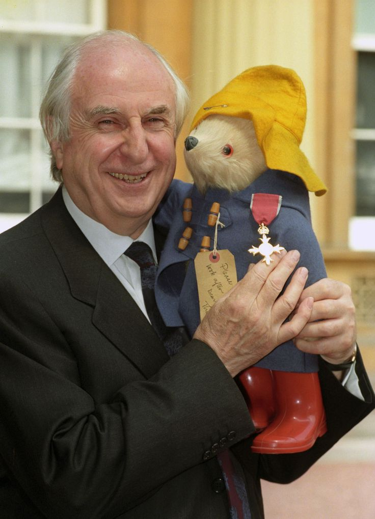 Michael Bond, the creator of children's literary character Paddington Bear, died on Tuesday aged 91 following a short illness, publisher HarperCollins said.