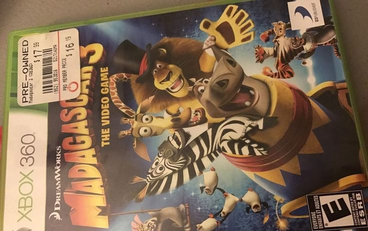 Madagascar 3: The Video Game (Microsoft Xbox 360 2012) Tested