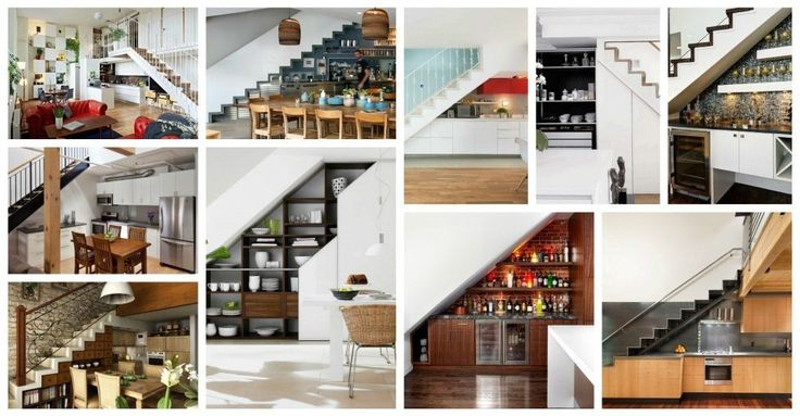 understairs kitchen designs