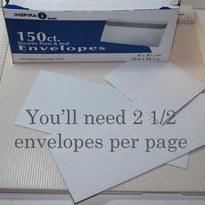 images about Mini Albums- envelopes Mini