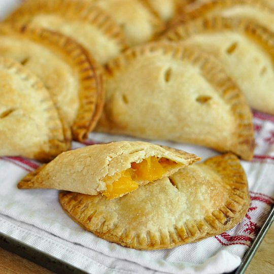 ginger peach hand pies