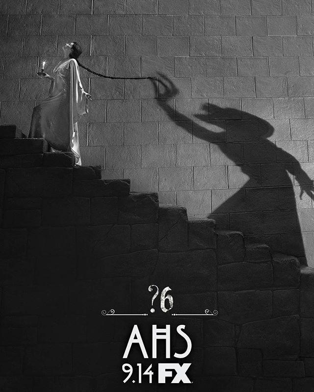 Behind you... #AHS6 #AHSFX #americanhorrorstory #horror