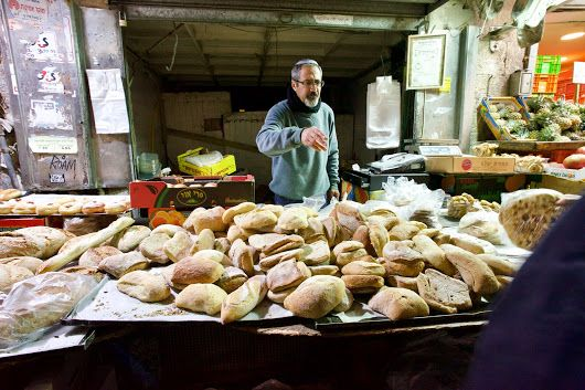 The Baker, Machane Yehudah Market in Jerusalem