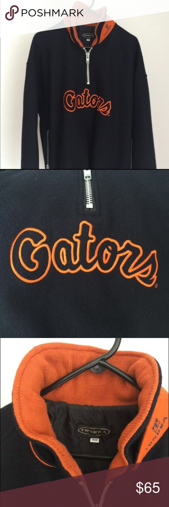 Florida Gators Wool Jacket Excellent Used Condition, 1/4 Zip Tundra Jackets & Coats Bomber & Varsity