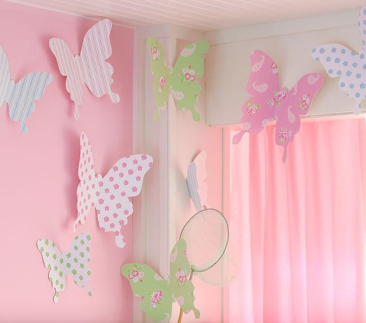 Decorating Paper Crafts For Home Decoration Interior Room: 25+ Best Ideas About Butterfly Wall Decor On Pinterest