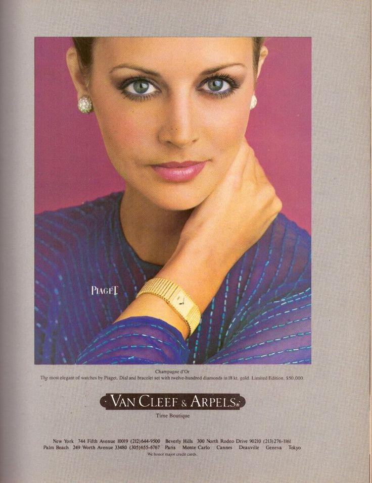 1980 Van Cleef & Arpels Piaget Corum Watch Print Advertisement Ad Vintage 80s | eBay