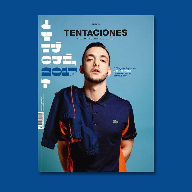 HOY VIERNES ya puedes ir a tu quiosco a por el nuevo número de TENTACIONES gratis con El País. Con reportaje especial dedicado a los nombres del #2017: @c.tangana, @agz_oficial, @lasodiomazo, @chloewallace_, @palomospain, @patyabrahamsson y 70 más. #tentaciones20 ❗️❗️❗️ Foto de portada de @gtripodo