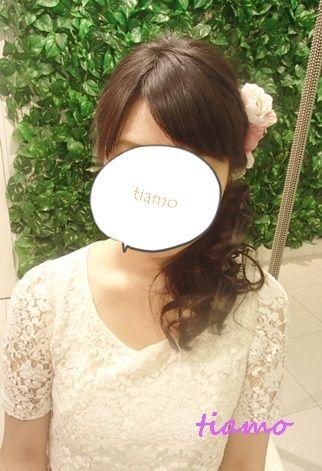 素敵な花嫁さまのルーズシニヨン&ワンサイドスタイル♪リハ編 の画像|大人可愛いブライダルヘアメイク『tiamo』の結婚カタログ