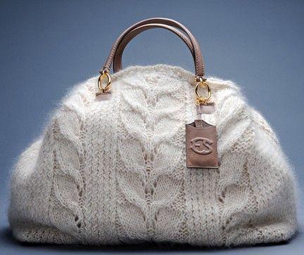 Dolce & Gabbana, Ermanno Scervino, Stella-McCartney,Ralph Lauren, estilistas famosos se rendem aos trabalhos manuais e desfilam belas bolsas em tricô ou crochê. Faça você mesma sua bolsa de …