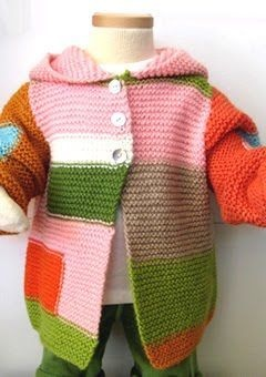 I love thisScrap Yarns, Work Sweaters, For Kids, Kids Fashion, Comforters Kids, Coats Ideas, Kids Clothing, Knits Lady, Yarns Sweaters