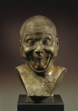 """Franz Xaver Messerschmidt (1736 – 1783) was a German-Austrian sculptor most famous for his """"character heads"""", a collection of busts with faces contorted in extreme facial expressions."""