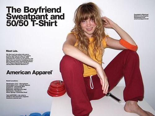 Ads Covers Lookbooks And Editorials Pinterest American Apparel