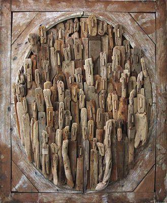 Marc Bourlier - Pintor, Escultor - Esculturas y Obras, Driftwood, Pintura - Singular Art / / Artista, escultor - Art Drywood, Singular