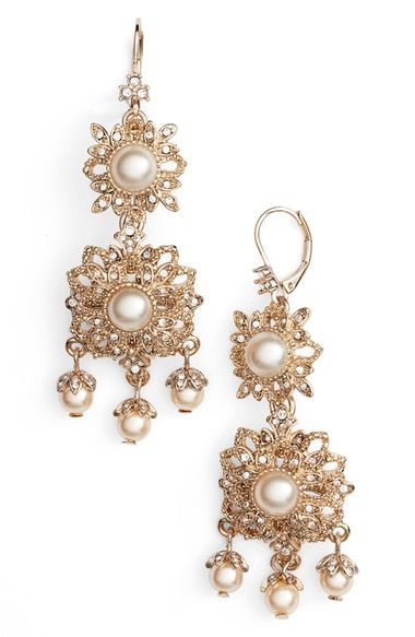 Marchesa Chandelier Drop Earrings available at #Nordstrom