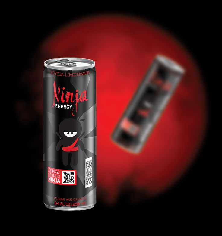 Energy Drink Can design