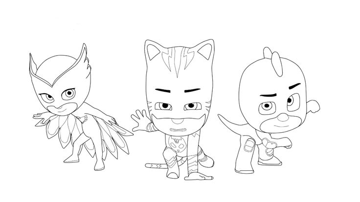 Pj Masks Coloring Pages To Download And Print For Free Aaa Pj