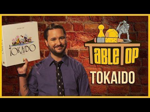 ▶ Tokaido: Jason Wishnov, J. August Richards, and Chris Kluwe join Wil Wheaton on TableTop S03E01 - YouTube