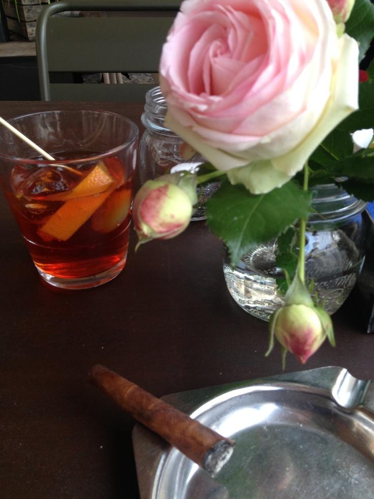 Gingerino at Leone Bar, Bassano del Grappa, Italy