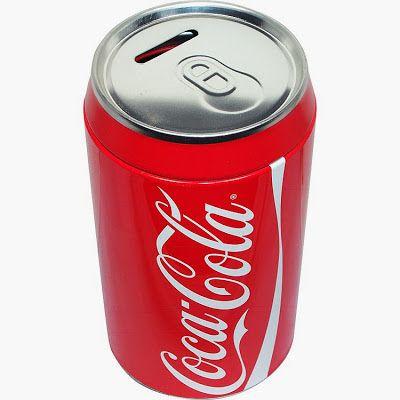 Hucha lata de coca cola regalos curiosos regalos - Regalos coca cola ...
