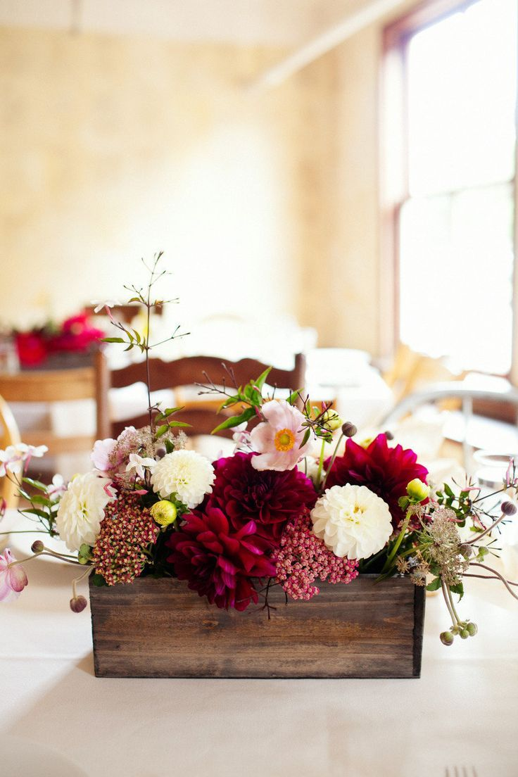 25 best ideas about wooden box centerpiece on pinterest