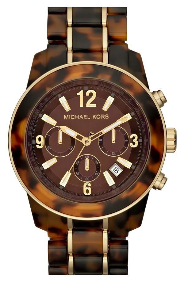 Michael Kors 'Preston' Chronograph Bracelet Watch