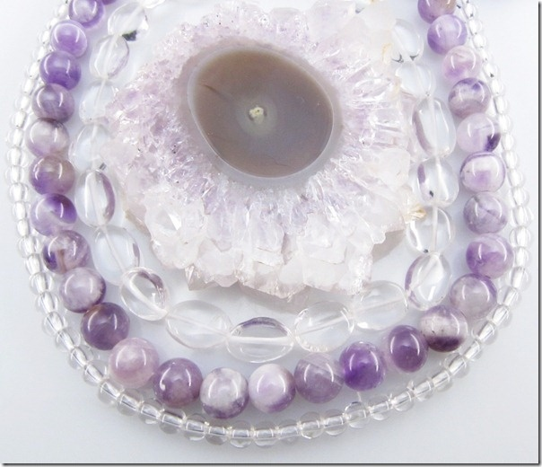 Some lucky jewelry designer is going to win this HUGE Amethyst Stalactite soon!
