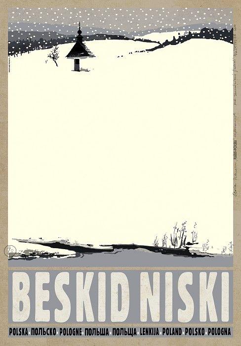 Ryszard Kaja, Beskid Niski, Polish Promotion Poster