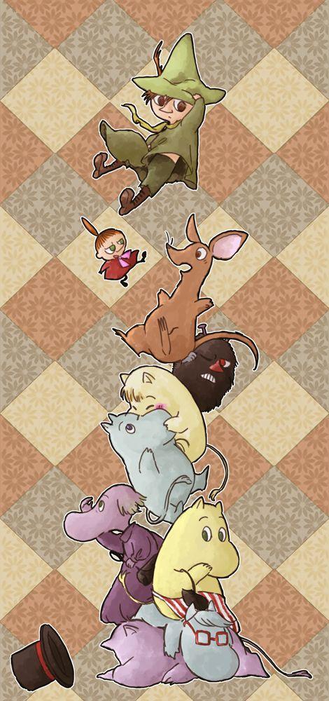 ムーミン Moomin characters