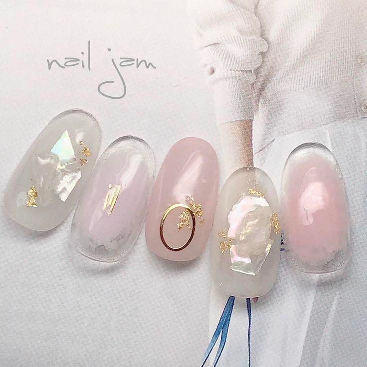 いいね!202件、コメント1件 ― ↞↞Asami.Ichikawa↠↠さん(@a.nailjam)のInstagramアカウント: 「#nails#nailstagram#gelnails#nailart#naildesign#fashion#beauty#pinknails#photography#nail#nailjam#nailbook#ネイル#ネイルデザイン#ネイルチップ#春ネイル#ピンクネイル#チークネイル#グレージュネイル#ニュアンスネイル#モーブピンク#上品ネイル#シンプルネイル#オフィスネイル#シェル#清楚ネイル#天然石ネイル#金箔ネイル#ネイルチップ販売#ネイルブック」