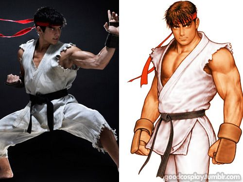 Ryu (Street Fighter) cosplay