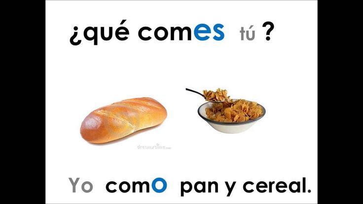 Conjugacion de verbos presente  -ER/-IR (3B)