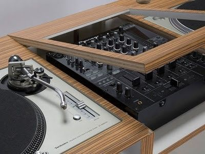 dizzyjockey: dj table - lifestyle furniture by dual