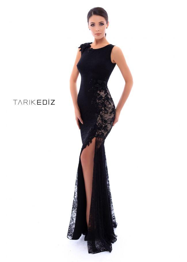 Bra Friendly Black Evening Gowns